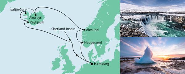 Island & Norwegen