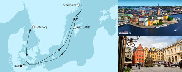 7 Tage Große Freiheit - Schwedische Küste 1