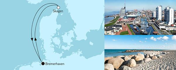 3 Tage Große Freiheit - Kurzreise ab Bremerhaven mit der Mein Schiff 3