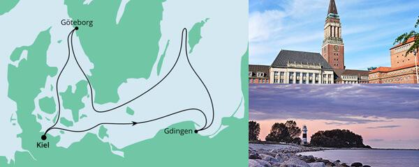 Ahoi Tour mit Göteborg und Danzig