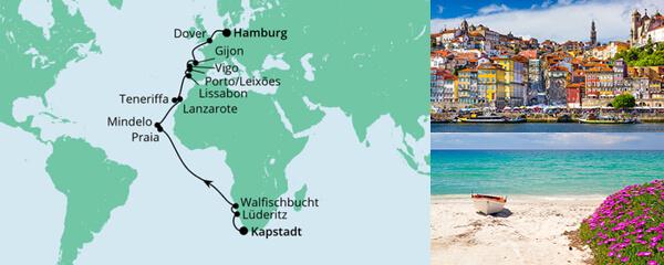 Von Kapstadt nach Hamburg