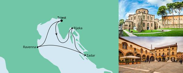 Kurzreise Italien & Kroatien