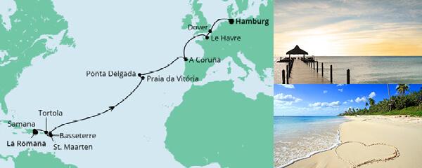 Von der Dominikanischen Republik nach Hamburg 1