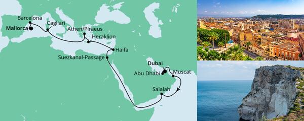 Von Dubai nach Mallorca 1