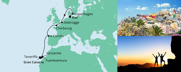 Von Kiel nach Gran Canaria