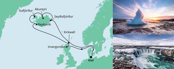 Nordische Inseln mit Island 2