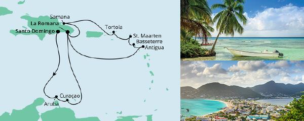 AIDA Seetours Angebot Karibik & kleine Antillen 2