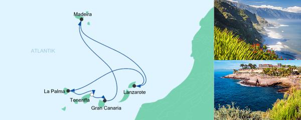 AIDA Pauschal Angebot Kanaren & Madeira 5
