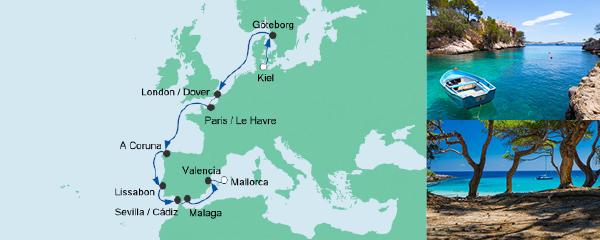 Aida 21082017 Von Kiel Nach Mallorca Preise