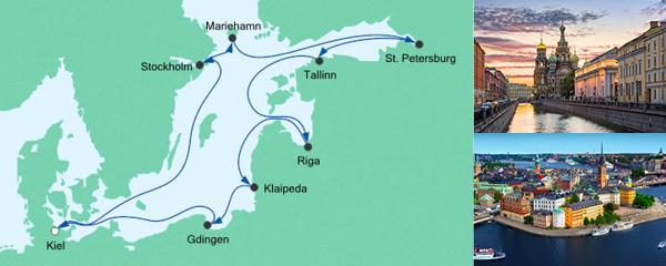 AIDA Pauschal Angebot Große Ostsee-Reise 3
