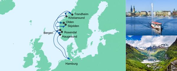 AIDA VARIO Kurzfristverkauf Norwegens Fjorde 2