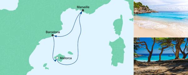 AIDA Spezialangebot Kurzreise ab Mallorca 2