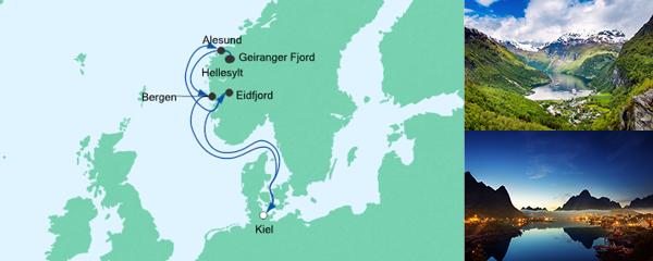AIDA Spezialangebot Norwegens Fjorde 4