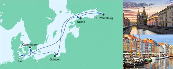 AIDA Seetours Angebot Ostsee ab Kiel 4