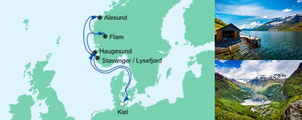 AIDA Pauschal Angebot Norwegen ab Kiel 6