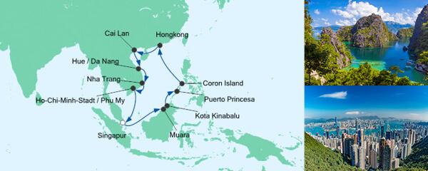Philippinen, Hongkong & Vietnam