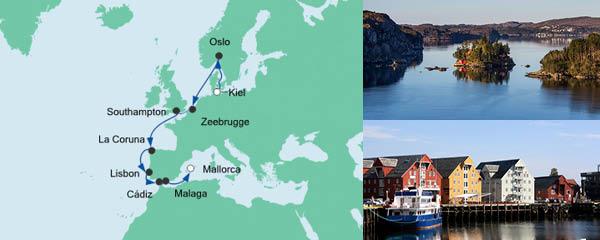 AIDA VARIO Kurzfristverkauf Von Kiel nach Mallorca 2