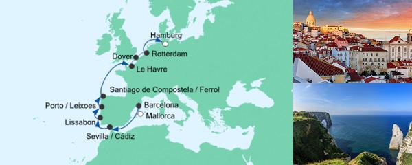 AIDA Seetours Angebot Von Mallorca nach Hamburg 4