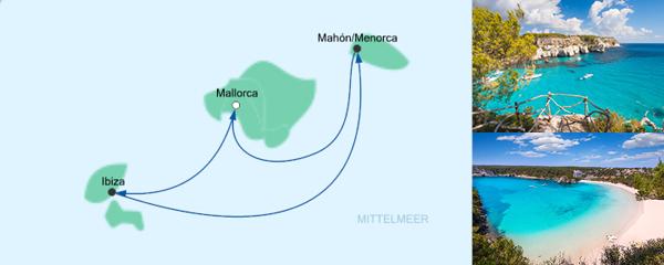 AIDA Verlockung der Woche Angebot Kurzreise ab Mallorca 3