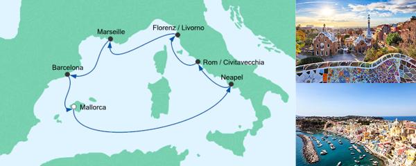 AIDA Seetours Angebot Perlen am Mittelmeer 5