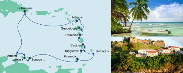 AIDA Pauschal Angebot Karibische Inseln 2