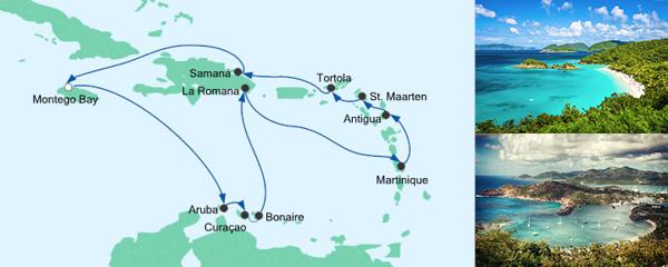 AIDA Angebot Karibische Inseln 4