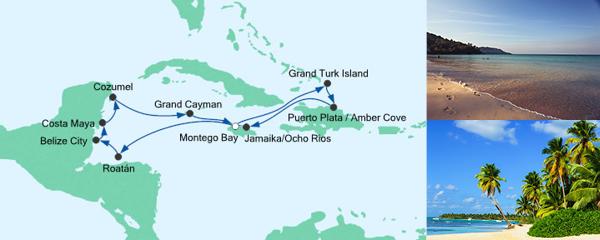 AIDA Seetours Angebot Karibik & Mexiko 4