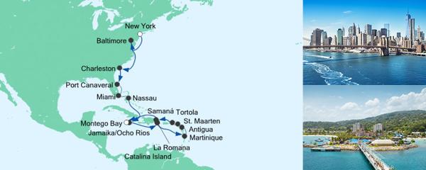 AIDA Seetours Angebot Von New York nach Jamaika 5