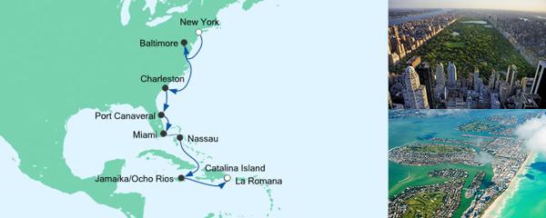 AIDA Seetours Angebot Von New York in die Dominikanische Republik 3
