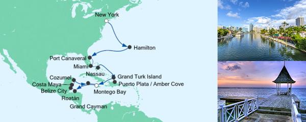 AIDA Seetours Angebot Von New York nach Jamaika 2