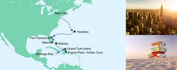AIDA Seetours Angebot Von New York nach Jamaika 4
