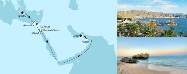 16 Tage Kreta bis Dubai II