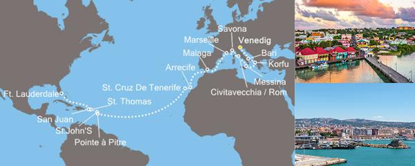 Routenverlauf Alte und Neue Welt am 25.11.2018