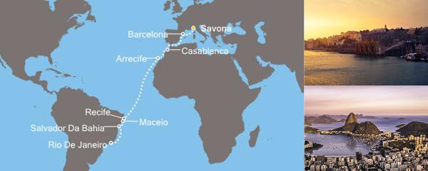 Routenverlauf Sonniges Rio am 25.11.2018
