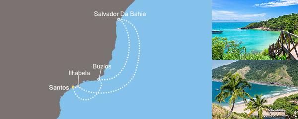 Routenverlauf Sonniges Rio am 24.02.2019