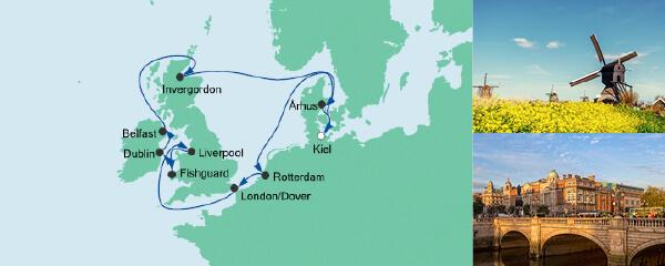 AIDA Spezialangebot Großbritannien & Irland 4
