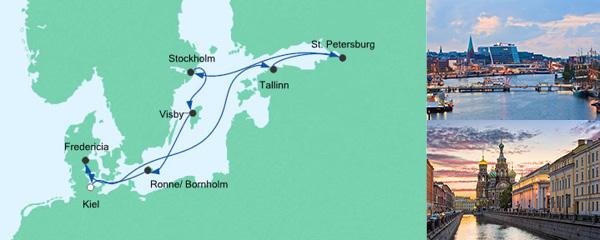 AIDA Spezialangebot Schätze der Ostsee 3
