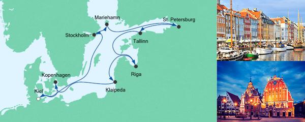AIDA Seetours Angebot Große Ostsee-Reise 3