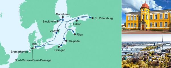 AIDA Seetours Angebot Große Ostsee-Reise 4