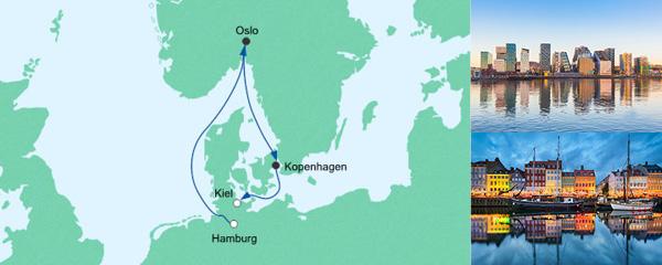 Kurzreise von Hamburg nach Kiel