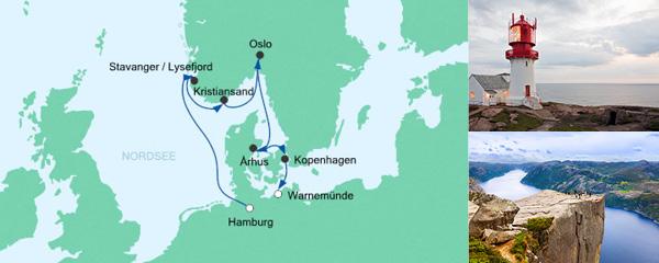 AIDA Verlockung der Woche Angebot Skandinavische Städte 5