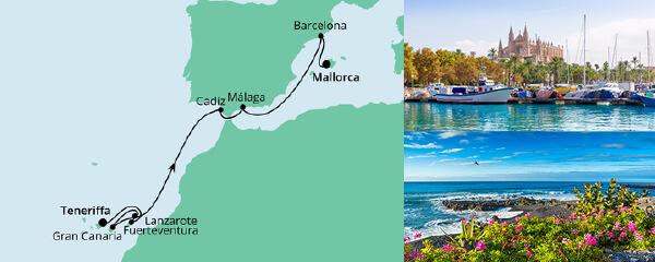 AIDA VARIO Kurzfristverkauf Von Teneriffa nach Mallorca 3