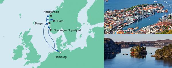 AIDA Spezialangebot Norwegens Küste 1