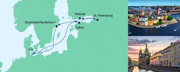 Routenverlauf Ostsee 3 am 21.09.2019