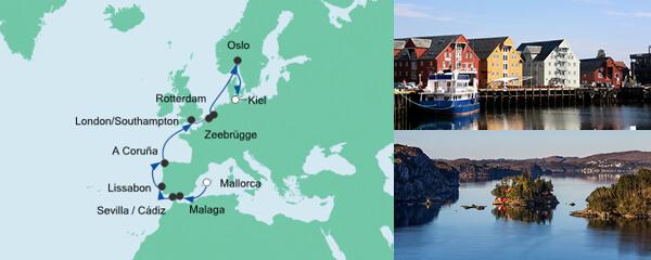 AIDA Verlockung der Woche Angebot Von Mallorca nach Kiel 2
