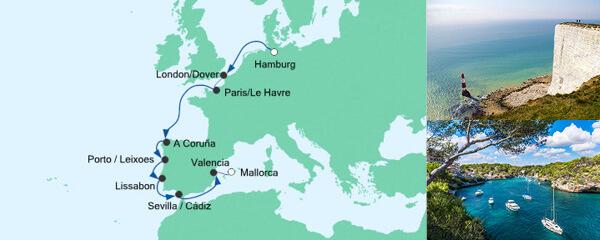 Von Hamburg nach Mallorca 4