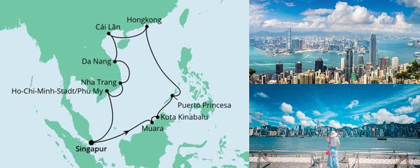 AIDA Spezialangebot Philippinen, Hongkong & Vietnam