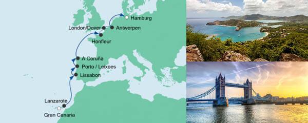 AIDA Spezialangebot Von Gran Canaria nach Hamburg 3