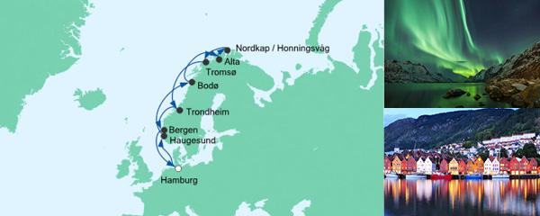 Routenverlauf Winter im hohen Norden am 20.02.2021