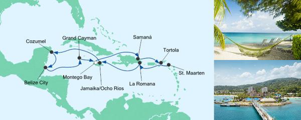 AIDA VARIO Kurzfristverkauf Karibik & Mexiko 2